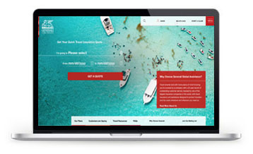 Buy travel insurance at the new Generali Global Assistance website